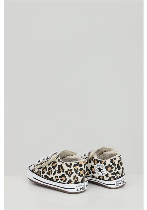 Chuck taylor all star sneakers with animalier print. Newborn model. Brand: Converse CONVERSE | Sneakers | 870415C.