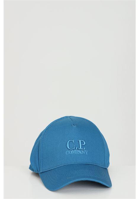 Cappello unisex blu cp company, berretto con chiusura regolabile C.P. COMPANY | Cappelli | 10CMAC091A-005279A870