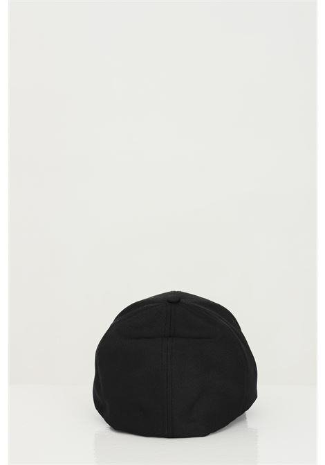Cappello unisex nero cp company, berretto con logo tono su tono C.P. COMPANY | Cappelli | 10CMAC093A-005952A999