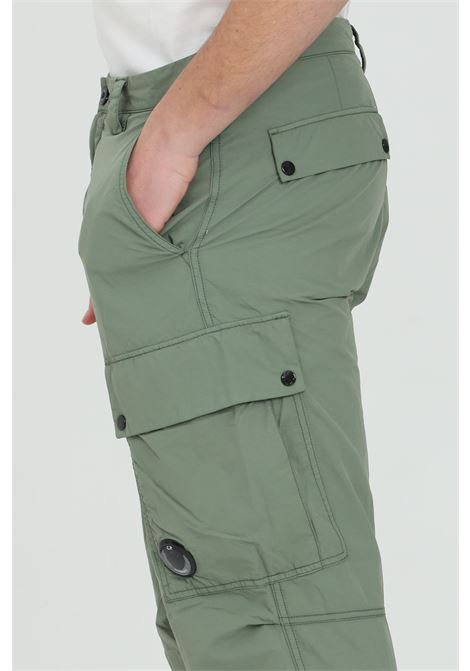 Grey pants, cargo model with siide pockets with slippers. Comfortable fit. C.p. company C.P. COMPANY | Pants | 10CMPA149A-005991G668