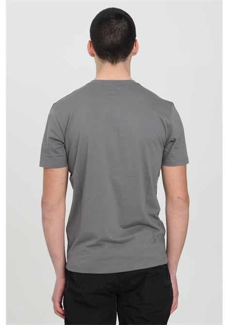 Grey t-shirt with front logo, short sleeves. Regular fit. C.p. company C.P. COMPANY | T-shirt | 10CMTS180A-005100W938