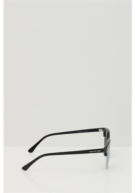 Occhiali da sole unisex nero Cristian Leroy con lenti azzurre CRISTIAN LEROY | Sunglasses | 153906