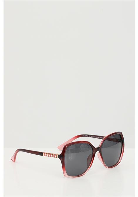 Occhiali da sole unisex in tinta unita Cristian Leroy con strass sulle aste CRISTIAN LEROY | Sunglasses | 976801