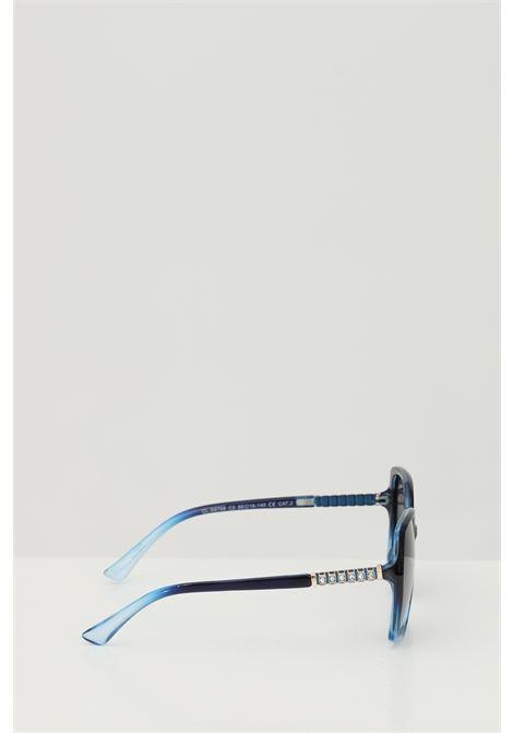 Occhiali da sole unisex in tinta unita Cristian Leroy con strass sulle aste CRISTIAN LEROY | Sunglasses | 976802