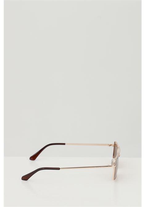 Occhiali da sole unisex in tinta unita Cristian Leroy rettangolari e in metallo CRISTIAN LEROY | Sunglasses | 979701