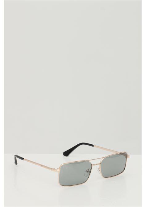 Occhiali da sole unisex in tinta unita Cristian Leroy rettangolari e in metallo CRISTIAN LEROY | Sunglasses | 979702
