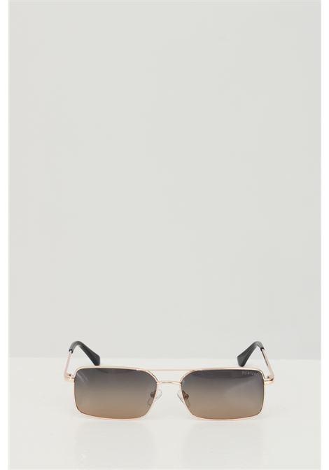 Occhiali da sole unisex in tinta unita Cristian Leroy rettangolari e in metallo CRISTIAN LEROY | Sunglasses | 979703
