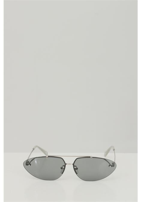 Occhiali da sole unisex silver Cristian Leroy con aste sottili CRISTIAN LEROY | Sunglasses | 983502
