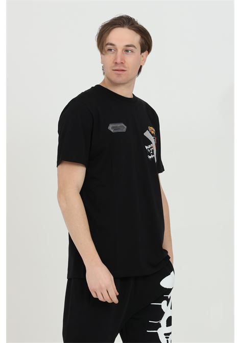 T-shirt with front print DISCLAIMER | T-shirt | 21EDS50512NERO