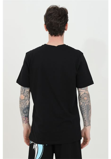 T-shirt uomo nero Disclaimer a manica corta e maxi stampa frontale DISCLAIMER | T-shirt | 21EDS50580NERO