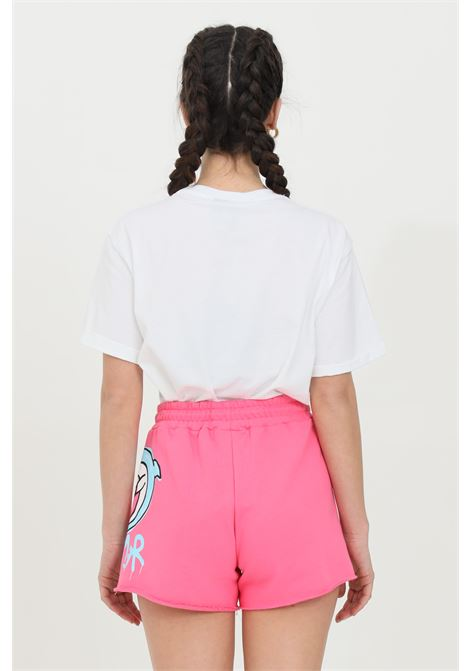 Fuchsia short casual with elastic waist and screen printing.Disclaimer DISCLAIMER | Shorts | 21EDS50659FUXIA FLUO
