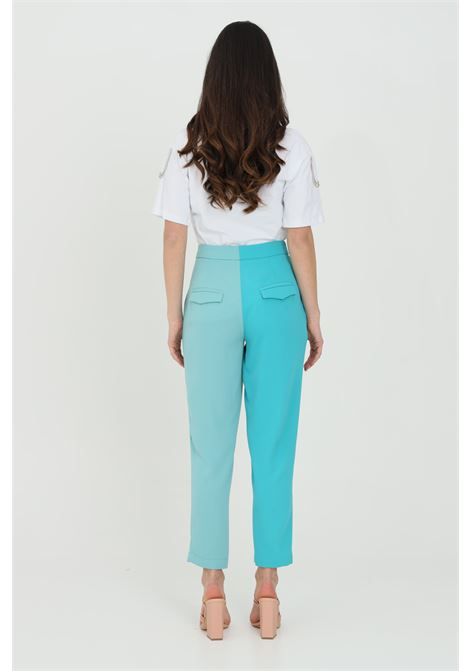Classic bicolor trousers, zip and hook closure. Side pockets DRAMèE | Pants | D21023.