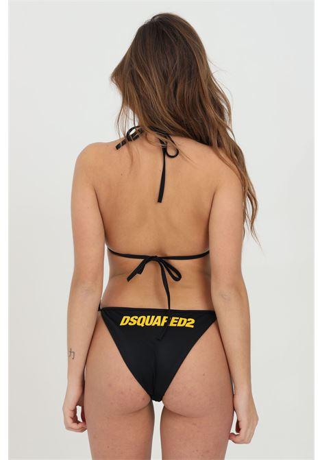 Bikini bottom in solid color DSQUARED2 | Beachwear | D6B082830014