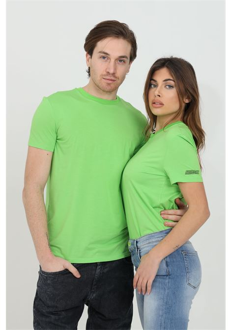 Green t-shirt with logo on the sleeve, short sleeves. Dsquared2  DSQUARED2 | T-shirt | D9M203480320