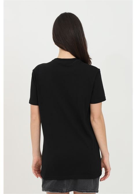 T-shirt unisex nero dsquared2 a manica corta con logo sulla manica DSQUARED2 | T-shirt | D9M203520001