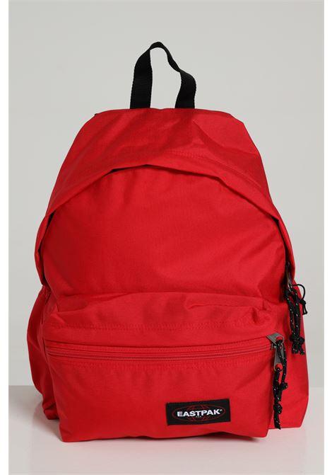 Red backpack in solid color with contrasting logo, zip closure and adjustable shoulder straps. Eastpak EASTPAK | Backpack | EK0A5B7484ZSAILOR RED