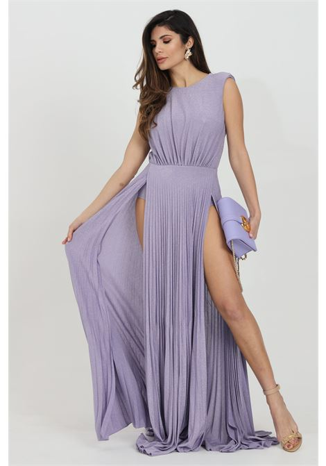 Dress with pendant on the back ELISABETTA FRANCHI | Dress | AB05211E2Q38