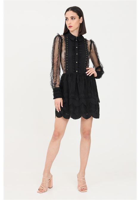 Black short dress elisabetta franchi  ELISABETTA FRANCHI | Dress | AB10111E2110