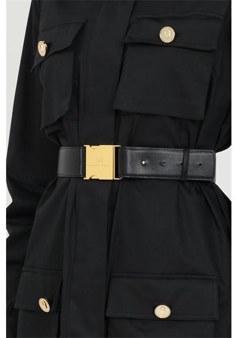 Black woman dress elisabetta franchi shirt ELISABETTA FRANCHI   Dress   AB14211E2110