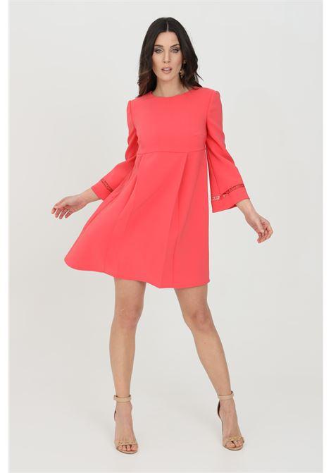 Dress woman red elisabetta franchi empire style ELISABETTA FRANCHI   Dress   AB95111E2620