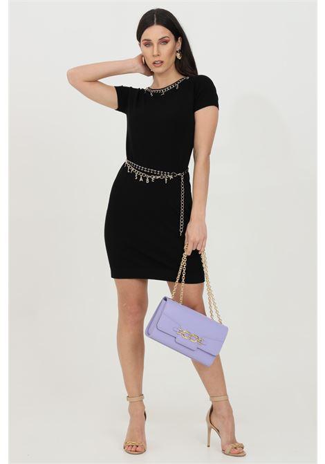 Mini dress con cintura e charms ELISABETTA FRANCHI | Abiti | AM03S11E2110