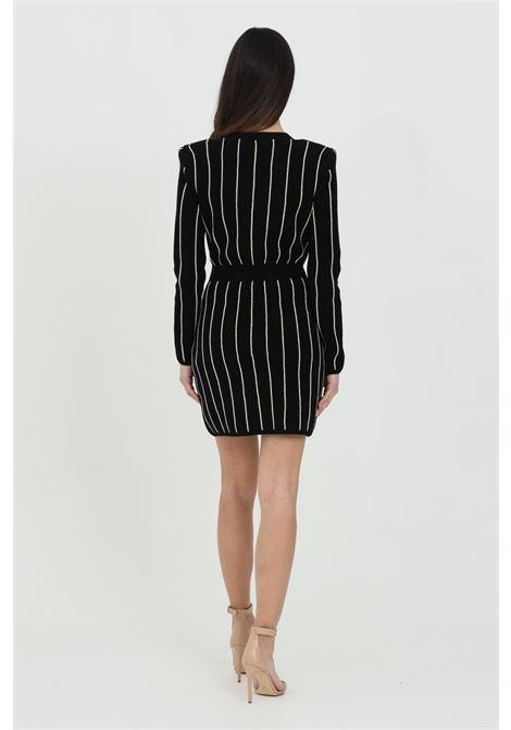 Double-breasted dress with long sleeves ELISABETTA FRANCHI | Dress | AM99Q11E2Q67