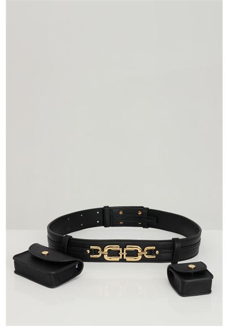 Belt woman black elizabeth francs pouch ELISABETTA FRANCHI | Pouch | BM02A11E2110