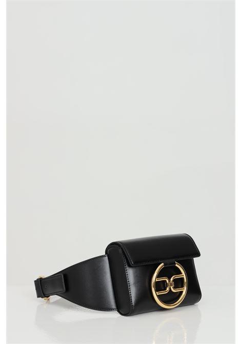 Pouch woman black elisabetta franchi logo gold ELISABETTA FRANCHI | Pouch | BM03A11E2110