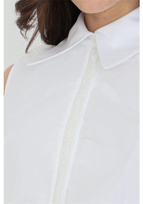 Elisabetta franchi white woman sleeveless shirt ELISABETTA FRANCHI | Shirt | CA30011E2100