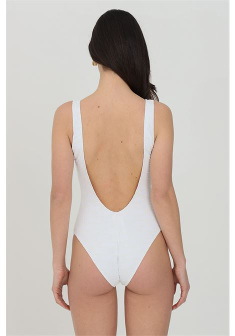 Elisabetta franchi women's white one-piece bikini with print ELISABETTA FRANCHI | Beachwear | CS22B11E2270