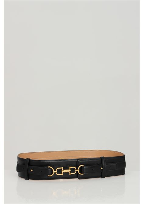 Elisabetta franchi black women's belt with high waist ELISABETTA FRANCHI | Belt | CT04S11E2110