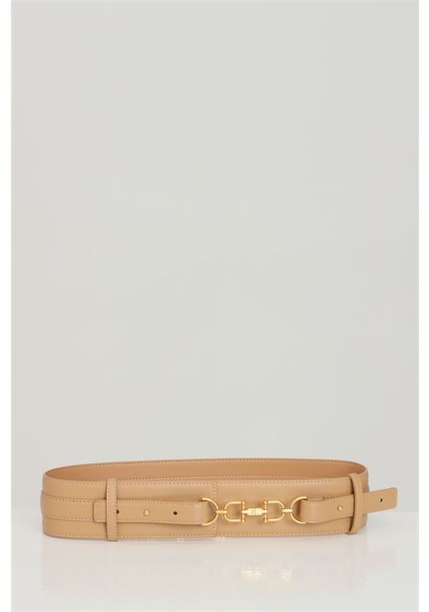 Elisabetta franchi women's camel belt with high waist ELISABETTA FRANCHI | Belt | CT04S11E2470