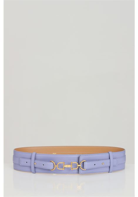 Lavender elisabetta franchi women's belt with high waist ELISABETTA FRANCHI | Belt | CT04S11E2Q38