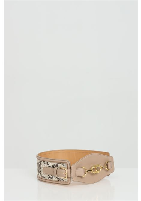 High waist jaquard belt with clamp ELISABETTA FRANCHI | Belt | CT06S11E2390