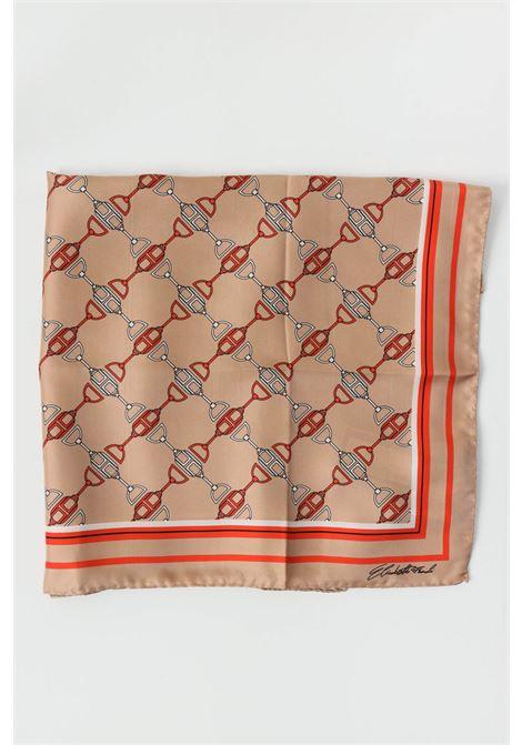 Amaranth elisabetta franchi women's scarf with print ELISABETTA FRANCHI   Scarf   FO03F11E2470