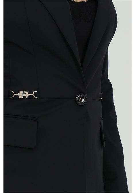 Jacket with button closure ELISABETTA FRANCHI | Blazer | GI96911E2110