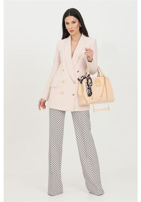 Double breasted jacket with gold front buttons ELISABETTA FRANCHI | Blazer | GI97311E2686