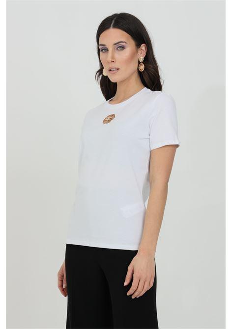 T-shirt con logo in strass ELISABETTA FRANCHI   Maglieria   MA25N11E2270