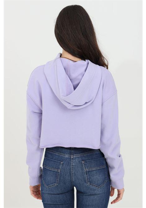 Lavanda hoodie with front logo. Brand: Elisabetta Franchi ELISABETTA FRANCHI | Sweatshirt | MD04611E2Q38