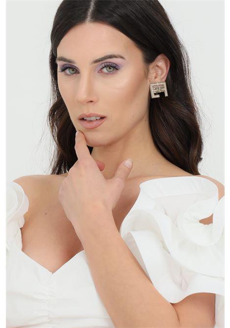 Elisabetta Franchi gold earrings with clip closure ELISABETTA FRANCHI | Bijoux | OR05B11E2604