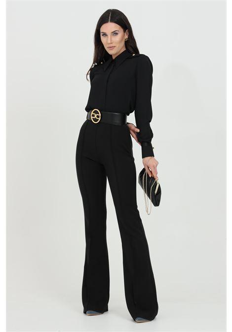 Pantalone skinny a zampa ELISABETTA FRANCHI   Pantaloni   PA38411E2110