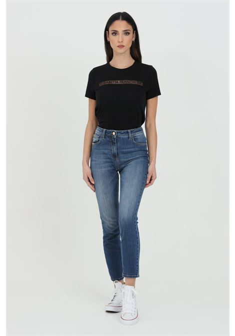 Jeans five pockets model with super skinny leg ELISABETTA FRANCHI | Jeans | PJ07S11E2104