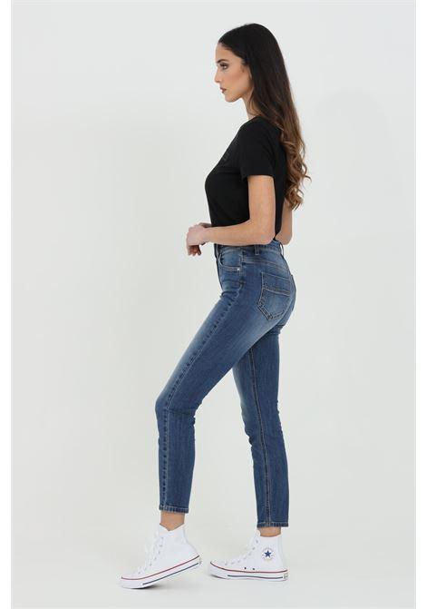Jeans donna elisabetta franchi skinny basic a cinque tasche ELISABETTA FRANCHI | Jeans | PJ07S11E2104