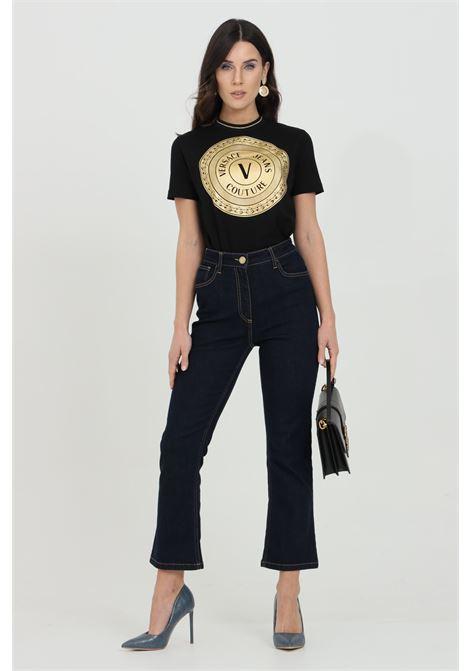 Jeans donna elisabetta franchi skinny a cinque tasche con gamba zampetta ELISABETTA FRANCHI | Jeans | PJ83S11E2104