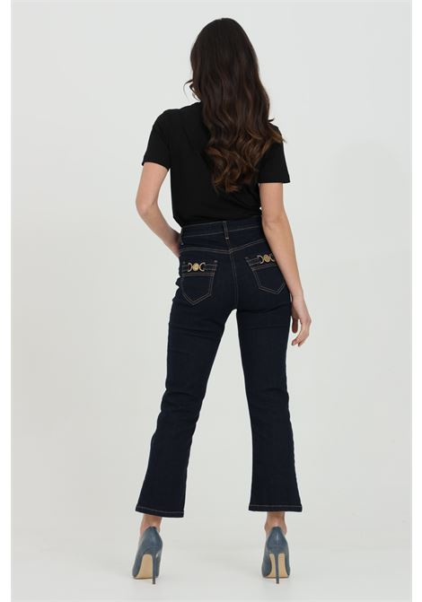 Jeans five pockets, with waistband ELISABETTA FRANCHI | Jeans | PJ83S11E2104