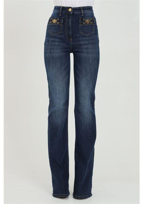 Jeans donna elisabetta franchi skinny a zampa ELISABETTA FRANCHI | Jeans | PJ96S11E2192