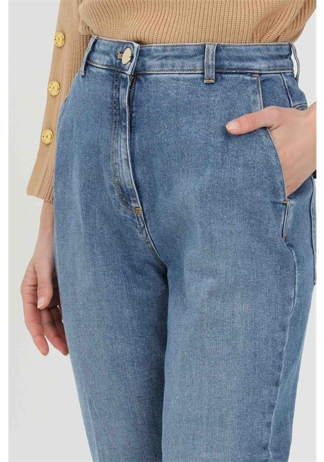 Elisabetta franchi women jeans with embroidery on the back ELISABETTA FRANCHI | Jeans | PJ98D11E2192