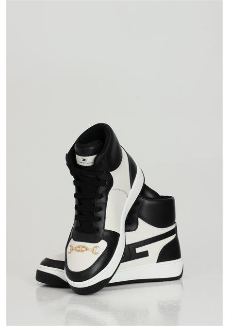 High sneakers in calfskin ELISABETTA FRANCHI   Sneakers   SA84H11E2110