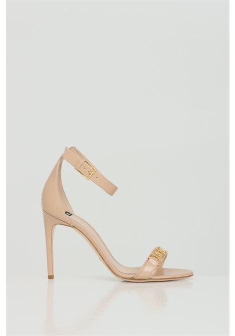 Sandalo donna elisabetta franchi in vera pelle con tacco 10cm ELISABETTA FRANCHI | Party Shoes | SA97L11E2470