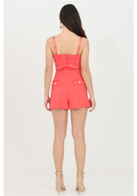 Woman shorts with high waist and side slits, brand: Elisabetta Franchi ELISABETTA FRANCHI | Shorts | SH00211E2620